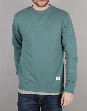 DC Rebel Crew 3 Sweatshirt - Sea Pine