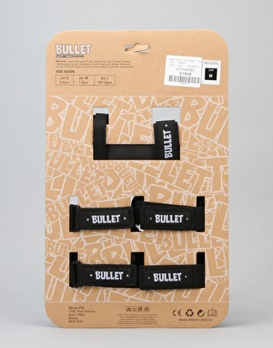Bullet Junior Triple Padset - Black/White