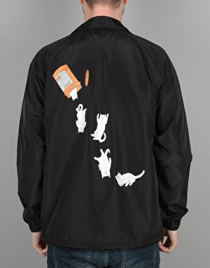 RIPNDIP Nermal Pills Coach Jacket - Black