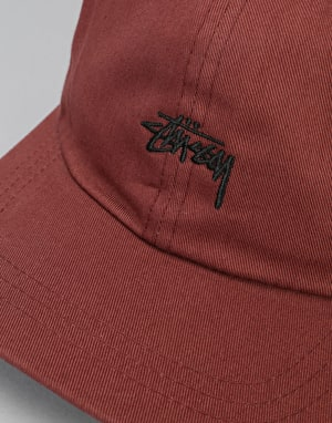 Stüssy Stock Low Cap - Brick