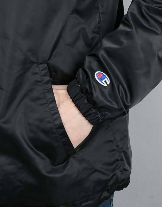 Champion Logo Coach Jacket - NBK