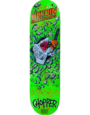 Heroin Chopper Shark Justice Pro Deck - 8