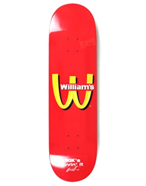 DGK Williams Cease & Desist Pro Deck - 8.38