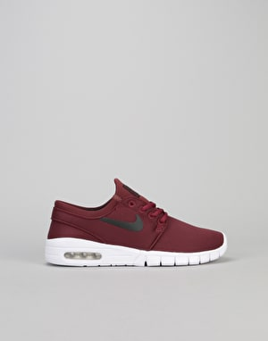 Nike SB Stefan Janoski Max Boys Skate Shoes - Dark Team Red/Black