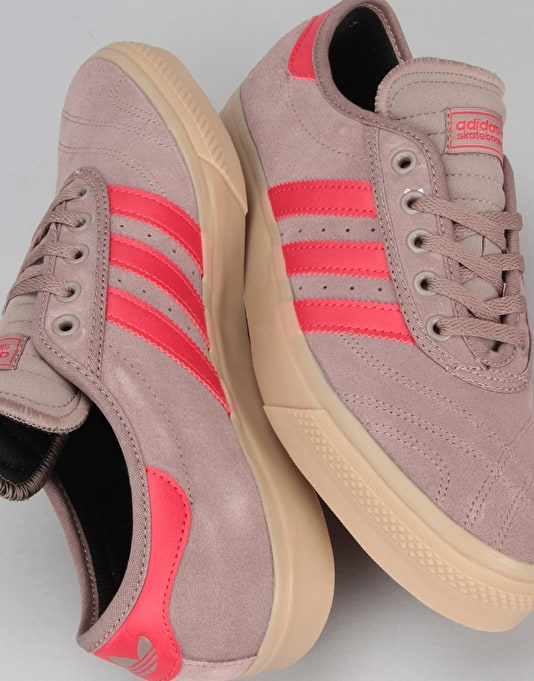Adidas Adi-Ease Premiere Skate Shoes - Trace Brown/Scarlet/Gum