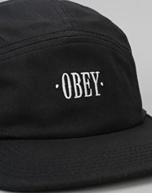 Obey Sonora 5 Panel Cap - Black