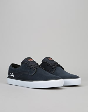 Lakai Riley Hawk Skate Shoes - Midnight Suede
