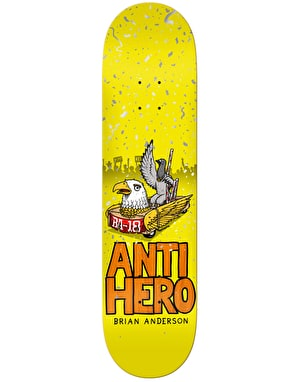 Anti Hero BA 1st Pro Deck - 8.25