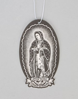Santa Cruz Guadalupe Air Freshener - Black