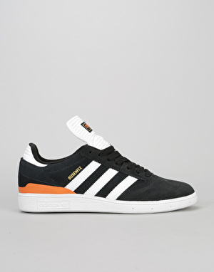 Adidas Busenitz Skate Shoes - Black/White/Craft Orange