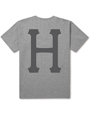 HUF Classic H T-Shirt - Grey Heather