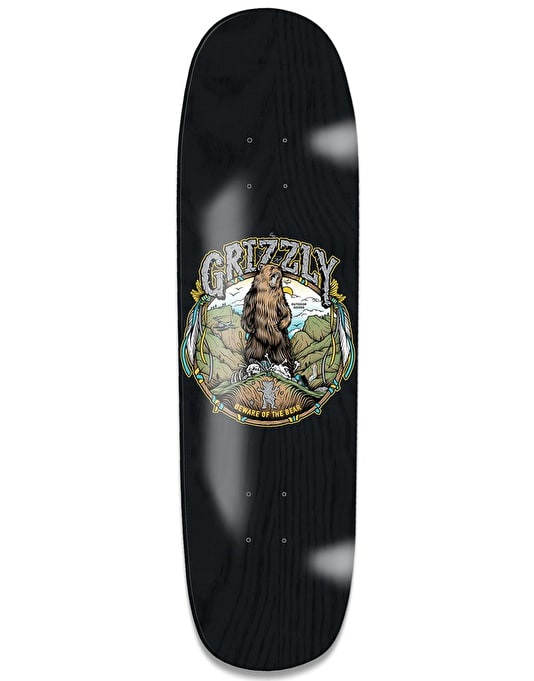Grizzly King of the Mountain Team Deck - 8.5""