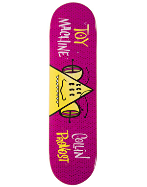 Toy Machine Provost Toon Time Pro Deck - 8