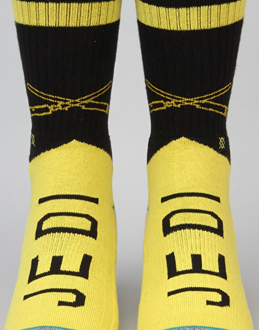 Stance x Star Wars Varsity Jedi Socks - Yellow