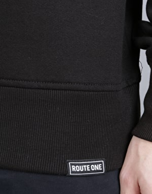 Route One Essentials Sweatshirt - Black