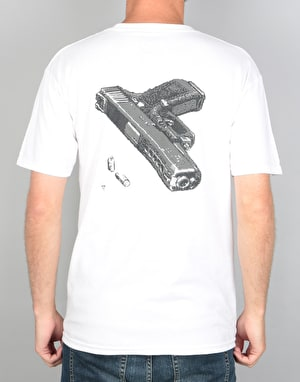 Pizza Gun T-Shirt - White