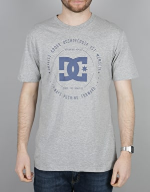 DC Rebuilt 2 T-Shirt - Grey Heather
