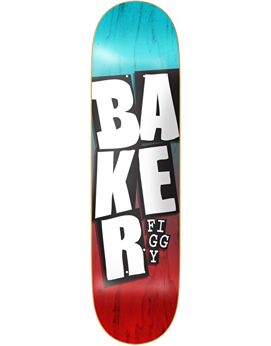 Baker Figgy Stacked Name Pro Deck - 8.25""