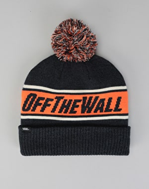 Vans Off The Wall Pom Beanie - Dress Blues/Heather