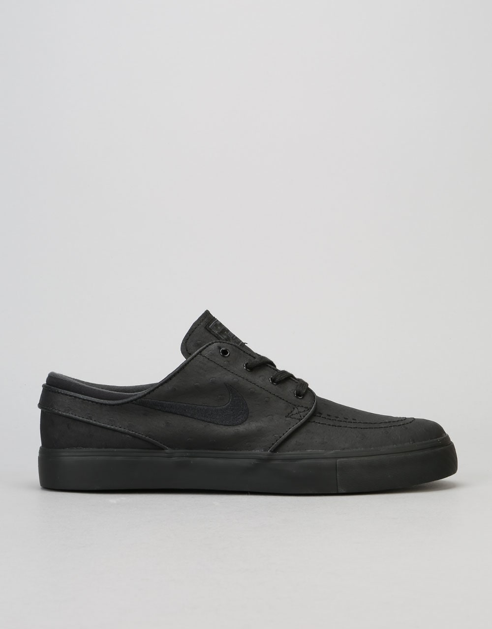 c2269ce28366a Nike SB Zoom Stefan Janoski Leather Skate Shoes - Black Anthracite ...