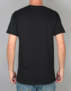 Thrasher Knock Off T-Shirt - Black