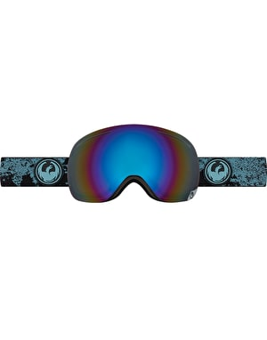 Dragon X1 2017 Snowboard Goggles - Mason Blue/Flash Blue Polarized