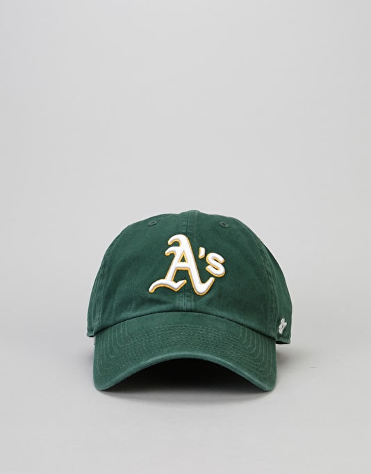 '47 Brand MLB Oakland Athletics Clean Up Cap - Dark Green