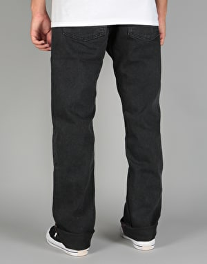 Levi's Skateboarding 501 Original Denim Jeans - Black Rinse