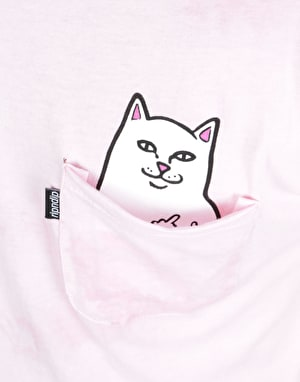 RIPNDIP Lord Nermal Pocket T-Shirt - Pink Mineral Wash
