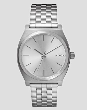Nixon Time Teller Watch - Silver