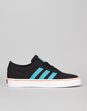 Adidas Adi-Ease Skate Shoes - Black/Energy Blue/Energy Blue