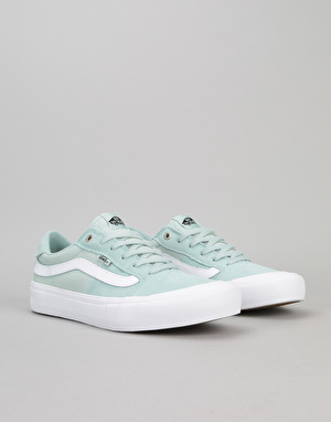 Vans Style 112 Pro Skate Shoes - Harbor Gray/White