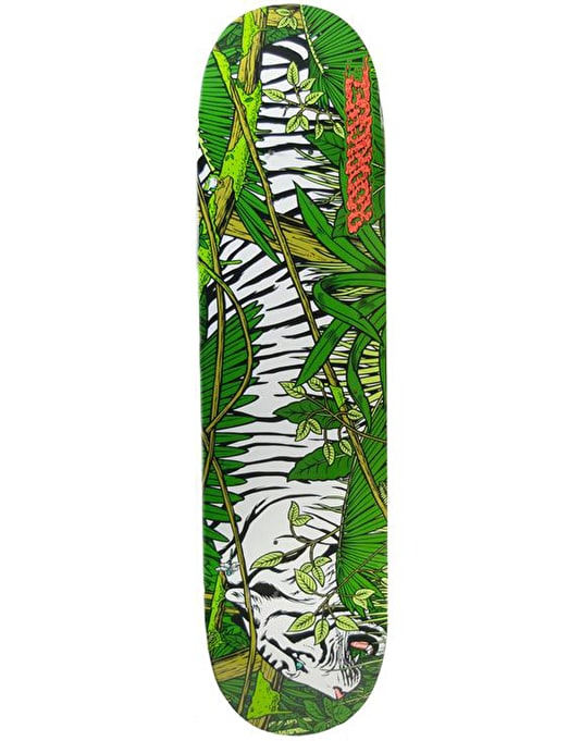 Primitive Rodriguez Jungle Cat Skateboard Deck - 8.1""