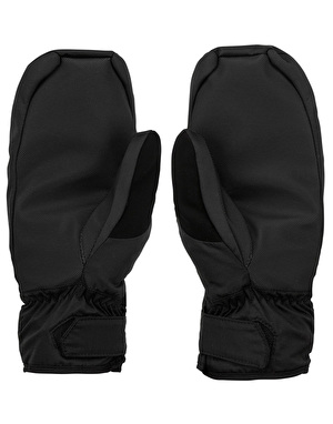 Volcom Stay Dry Mitt 2017 Snowboard Gloves - Black