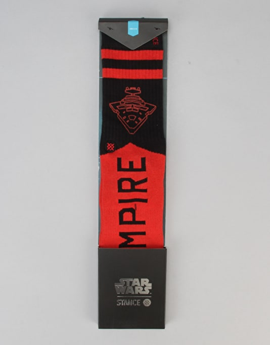 Stance x Star Wars Varsity Empire Socks - Red