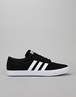 Adidas Sellwood Skate Shoes - Core Black/White/White