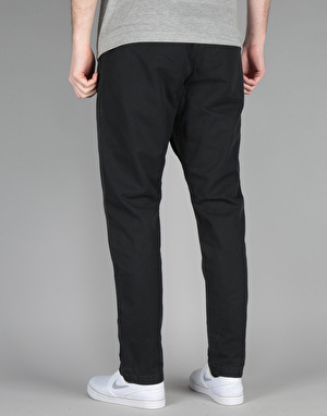 Obey Traveler Slub Twill Pant - Black