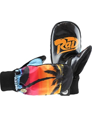 Radical Gloves The Ripper 2017 Snowboard Mitts - Vacation