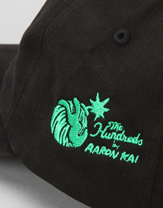 The Hundreds x Aaron Kai Mary Strapback Cap - Black