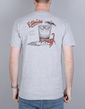 Etnies Another Day T-Shirt - Grey/Heather