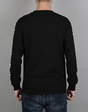 Obey The Creeper L/S T-Shirt - Black