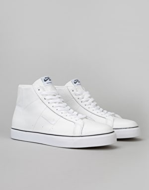 Nike SB Blazer Mid XT 'WKND' QS Skate Shoes - Summit White/White-Navy