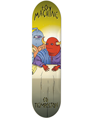 Toy Machine Templeton Last Supper Pro Deck - 8.375