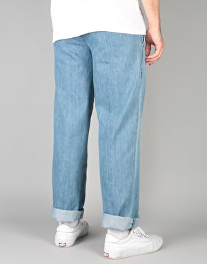 Dickies Denim Work Pant - Bleach Wash