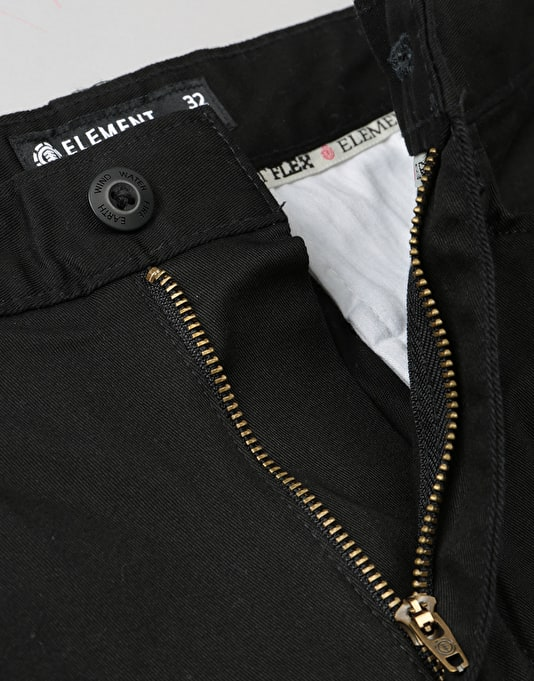 Element Sawyer Chinos - Black