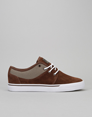 Globe Mahalo Skate Shoes - Dark Earth/Walnut