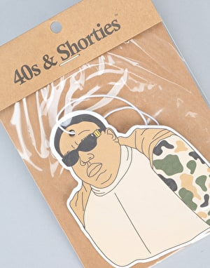 40's & Shorties Brooklyn Camo Air Freshener - Multi