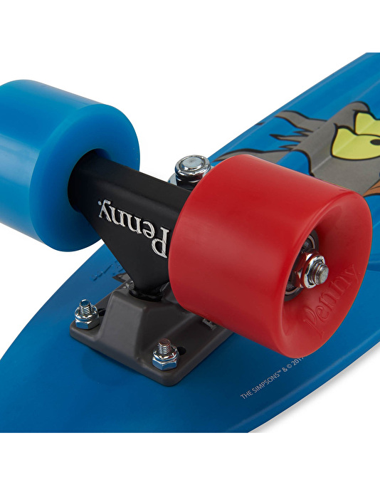 Penny Skateboards x The Simpsons Itchy & Scratchy Classic Cruiser -22""