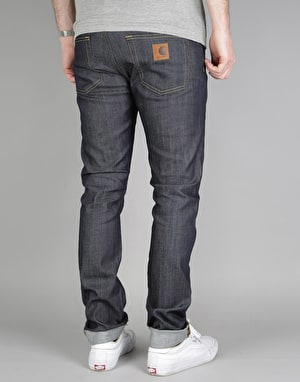 Carhartt Rebel Denim Jeans - Blue Rigid