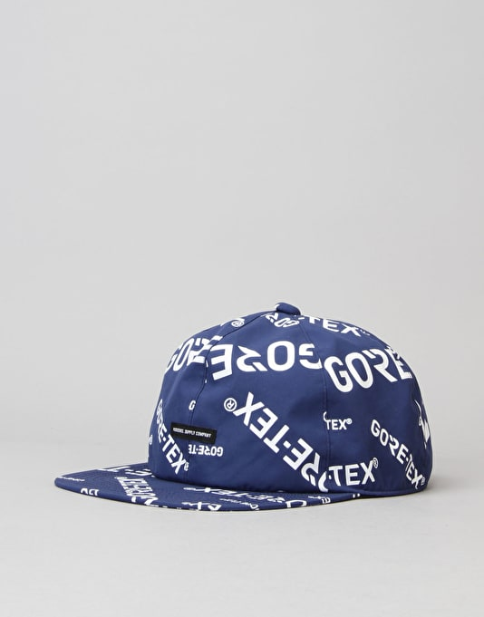 Herschel Supply Co. Albert Gore-Tex 6 Panel Cap - Navy/White
